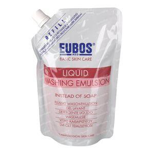 Eubos Gel Lavant Liquide (Rouge) Recharge 400 ml