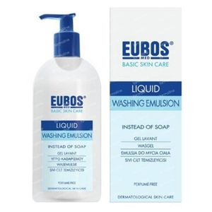 EUBOS Gel Lavant Liquide (Bleu) 400 ml