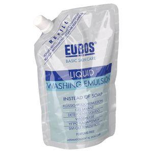 EUBOS Gel Lavant Liquide (Bleu) Recharge 400 ml