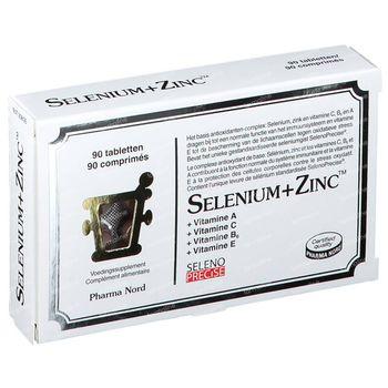 Pharma Nord Selenium+Zinc 90 tabletten