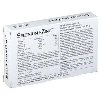 Pharma Nord Selenium+Zinc 90 comprimés
