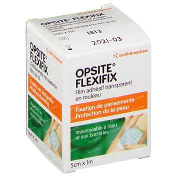 Opsite Flexifix 5cm x 1m 1 stuk