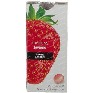Sawes Bonbon Strawberry Sugar Free 22 g
