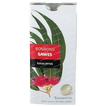 Sawes Bonbon Eucalyptus Sans Sucre 22 g