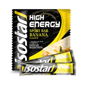 Isostar High Energy Banaan Reep 40 g
