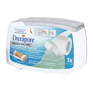 3M Durapore Surgical Tape Dispenser 2,5cm x 5m 1538-1/D 1 stuk