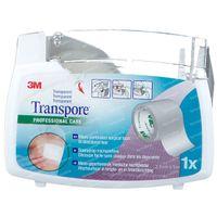 3M Transpore Surgical Tape Dispenser 2,5cm x 5m 1527-1/D 1 st