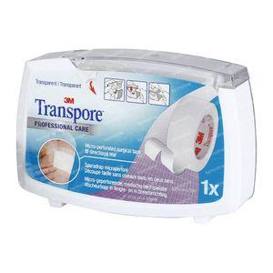 3M Transpore Medical Adhesive Plaster 5m x 1.25cm 1527-0/D 1 item