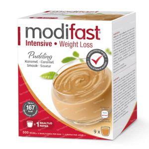 Modifast Intensive Pudding Caramel 9x47 g sachets
