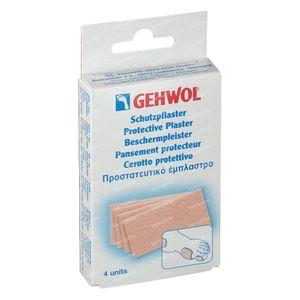 Gehwol Plâtre de Protection Gros 4 pansements