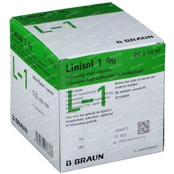 Braun Minipl Linisol 1% 200 ml