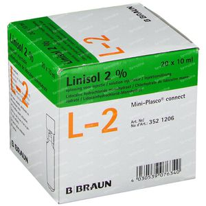 Braun Miniplasco Linisol 2% 200 ml