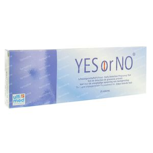 Yes Or No Test Grossesse 1 pièce