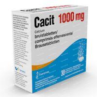 Cacit 1000mg - Calciumsupplement bij Osteoporose 30  bruistabletten