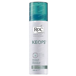 RoC Keops Deodorant Spray Frisheid 100 ml