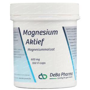 Deba Pharma Magnesium Actief 600 mg 100 capsules