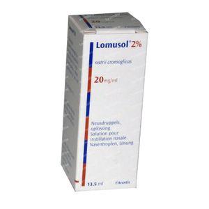 Lomusol Neusdruppels 13,50 ml