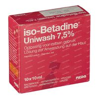 iso-Betadine Uniwash Zeep 100 ml