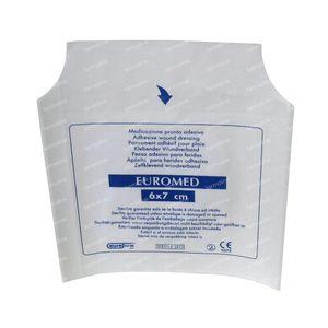 Euromed 6cm x 7cm Island Plaster ADH Sterile 1 stuk