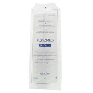 Euromed 10cm x 30cm Island Plaster ADH Sterile 1 item