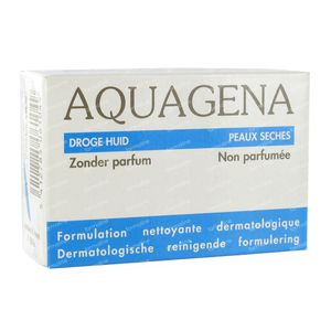 Aquagena Savon Peau Sensitive Sans Parfum 100 g