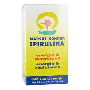 Marcus Rohrer Spirulina 540 stuks Tablets
