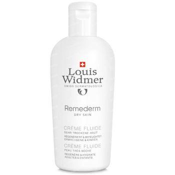 Louis Widmer Remederm Crème Fluide Zonder Parfum 200 ml