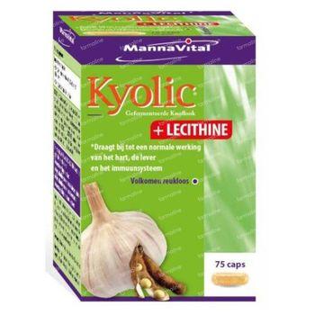 Mannavital Kyolic + Lecithine 75 capsules