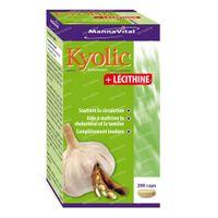 Mannavital Kyolic + Lecithine 200  capsules