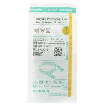 Braun Origal Perfusor Leid 150cm Pe 08722935 1 pièce