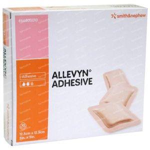Allevyn Adhesive 12.5cm x 12.5cm 10 unidades