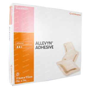 Allevyn Adhesive 17.5cm x 17.5cm 10 pièces