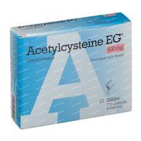 Acetylcysteïne EG  600mg 10  zakjes