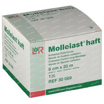 Mollelast Haft Windel Elastisch ADH 6cm x 20m 1 st