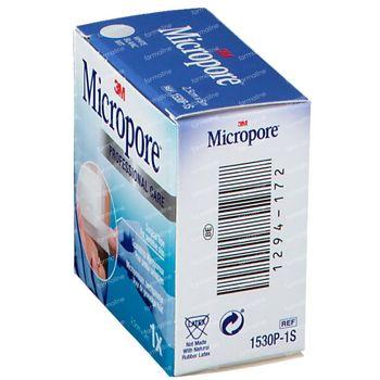 3M Micropore Surgical Tape 2,5cm x 5m 1530/2B 1 pleister