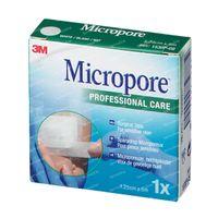 3M Micropore Surgical Tape 1,25 cm x 5m 1530/1B 1 stuk