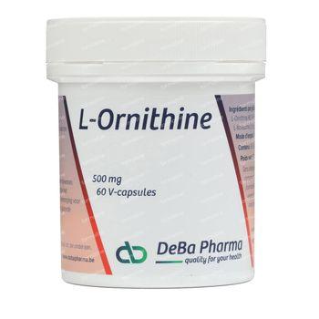 Deba L-Ornithine Capsules 500Mg 60 capsules