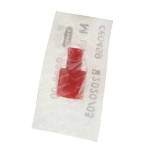 Universal Sealing Cap For Syringe Red r9888 1 pezzo