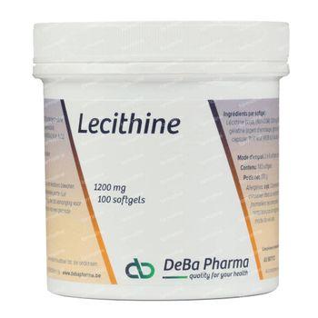 Deba Lecithine 1200Mg 100 capsules