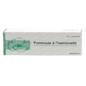 Homeoden Hamamelis 50 g zalf