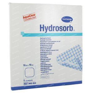 Hartmann Hydrosorb 10 x 10cm 900854 5 pièces