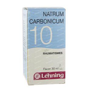 Lehning N 10 Natrum Carbonicum Complexe Druppels 30 ml