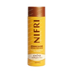 NIFRI Zonnebank Superbruiner Extra Huidtypes 3 & 4 250 ml