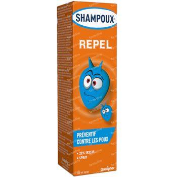 Shampoux Repel Anti-Poux Spray Préventif sans Rinçage 100 ml