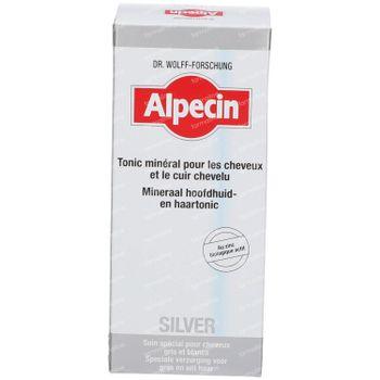 Alpecin Silver Minerale Hoofdhuid- en Haartonic 200 ml lotion