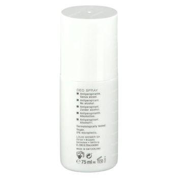 Louis Widmer Deo Spray Antiperspirant Zonder Parfum 75 ml