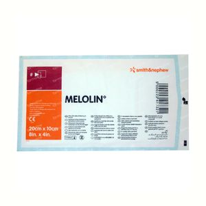 Melolin Sterile Compress 10cm x 20cm 1 St compress