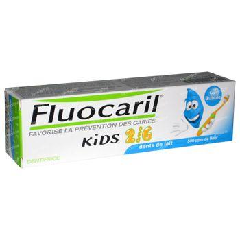 Fluocaril Gel Dentiaire four enfants Bubble Gum 2 - 6 ans 50 ml