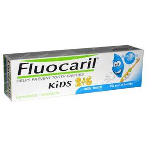 Fluocaril TandGel Kinderen Bubble Gum 2 - 6 jaar 50 ml