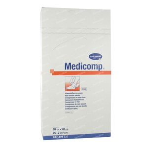 Hartmann Medicomp Steriel Kompres 4 Lagen 10 x 20cm 421727 50 stuks